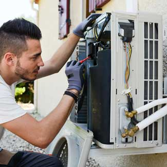 Full service heating, cooling and air quality.